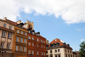 Old Part of Warsaw — Stock Photo
