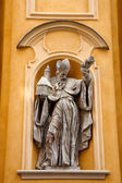 Sculpture at Church in Old Town — Stock Photo