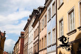 Colorful Houses at Warsaw — Stock Photo
