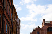 Detail of Houses at Old Town Square — Stock Photo