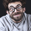 Handsome Geek — Stockfoto