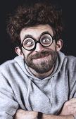 Handsome Geek — Stock Photo