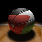 Jordan Basket Ball with Dramatic Light — Stock Photo