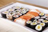 Mixed Plate Of Sushi — Stock Photo