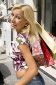Nakupování je zábava — Stock fotografie