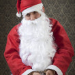 Stock Photo: Fake Santa