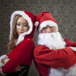 Mr. and Mrs. Santa — Stock Photo #35021799