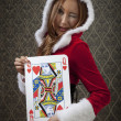 Stock Photo: Queen of Hearts