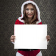 Stock Photo: Any Message For Christmas