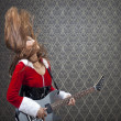 Rock And Roll At Christmas — Stock Photo
