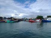 Phuket adası'nda balıkçı köyü — Stok fotoğraf