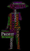 Word Cloud of Business — Stock Photo
