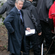 Richard Gere On The Set Of Arbitrage In New York City - Stock Photo