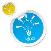 Idea stick — Stock Vector