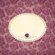 Royalty-Free Stock Imagen vectorial: Vintage card for your text (rose theme)