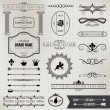 Design elements part 1 - Stock Vector