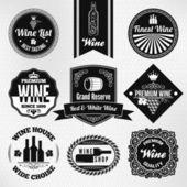 Wine set — Stock Vector