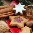 Stock Photo: Christmas Biscuits