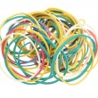 Elastic bands for money - Stock Photo