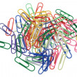 Colorful paper clips -  