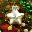 christmas star — Stock Photo