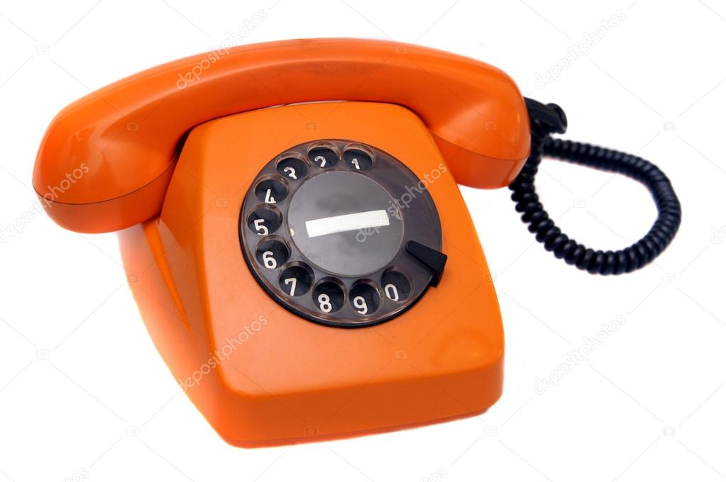 altes telefon mit w hlscheibe stockfoto cobaltstock 27685335. Black Bedroom Furniture Sets. Home Design Ideas