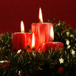 Christmas candles — Stock Photo #27755769