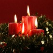 Christmas candles — Foto de Stock   #27755769