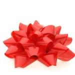 röda gåva båge — Stockfoto