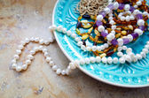 Jewelry mix — Stock Photo