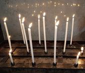 Prayer candles — Stock Photo