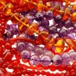 Necklaces with gemstone — Stock Photo #51498081