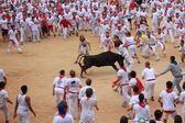 San Fermin in Pamplona, Spain — Stock Photo