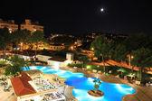 Hotel night view — Stock Photo