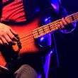 Bass playing live — Stockfoto #22708135