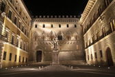 Monte dei Paschi, bank headquarter — Stock Photo