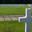 Cementery in Luxembourg — Stock Photo