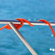 Stock Photo: Cordage de bateau