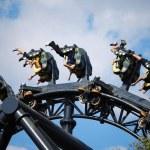 Rollercoaster ride — Stock Photo