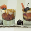 Fruit salad cocktail — Stock Photo