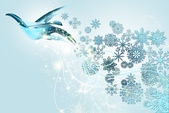 Noel barış güvercini — Stok fotoğraf