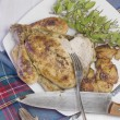 Roast chicken — Stock Photo #31519269