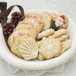 Stock Photo: Star shape chrismtas gingerbread