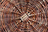 Details of woven basket — Stock Photo