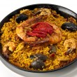 Traditional Paella — Stock Photo