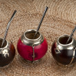 Stock Photo: Traditional Calabash Cups