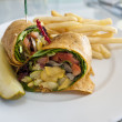 Vegetable wrap - Photo