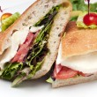 Mozzarella Sandwich — Foto de Stock