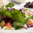 Three Color Salad - Stock Photo