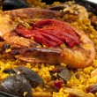 Colorful Paella — Stock Photo